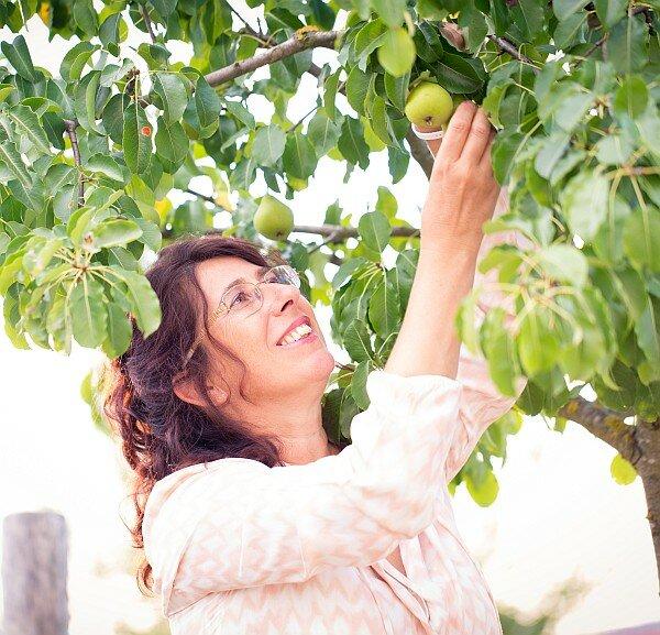 Qualität beginnt bei den Rohstoffen, bei den Äpfeln, Birnen, Zwetschken usw