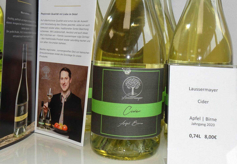 Cider Apfel / Birne Georg Laussermayr