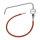 Ablaufleitung m. Zeigerthermometer f. PA 90