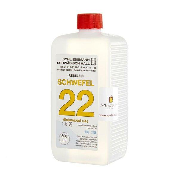 Schwefel 22 500 ml