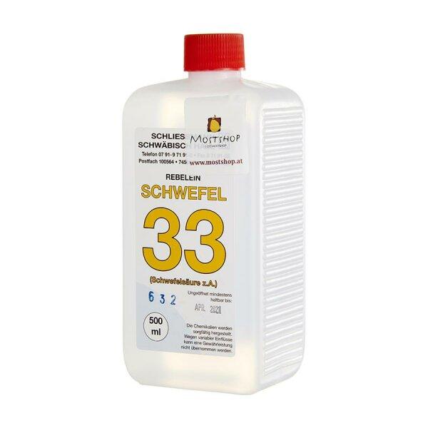 Schwefel 33 500 ml