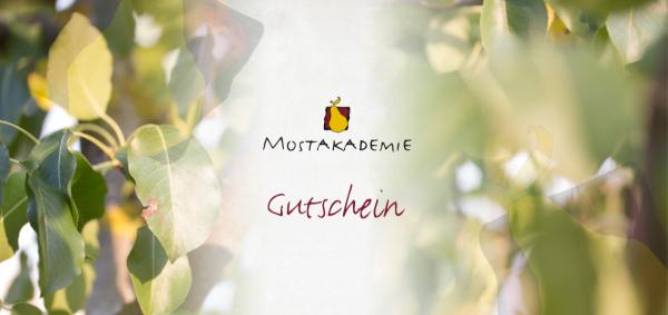 Gutschein Mostakademie 25 Euro