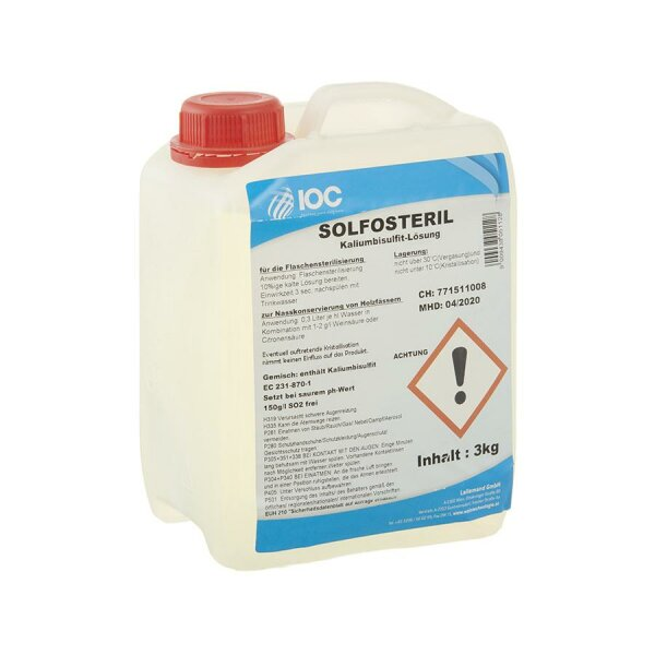 IOC Solfosteril 3 kg