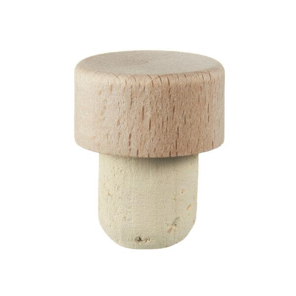 Griffkork Holz klein Ø 18 mm