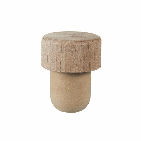 Griffkork Holz groß Co-Injected Ø19,5 mm