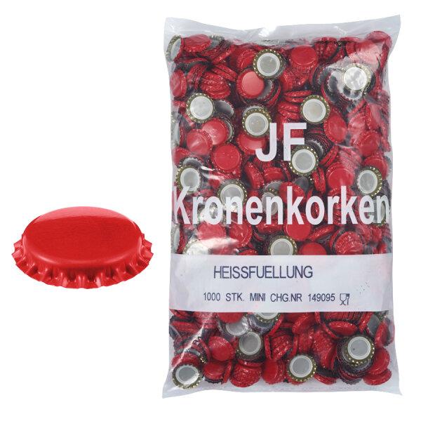 Kronenkorken SPD hellrot 1.000 Stk.
