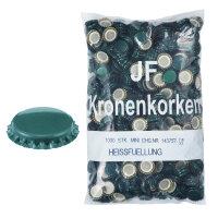 Kronenkorken SPD dunkelgrün 1.000 Stk